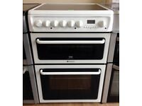 Hotpoint CREDA - White , 60cm , Ceramic , Fan Assisted ELECTRIC COOKER