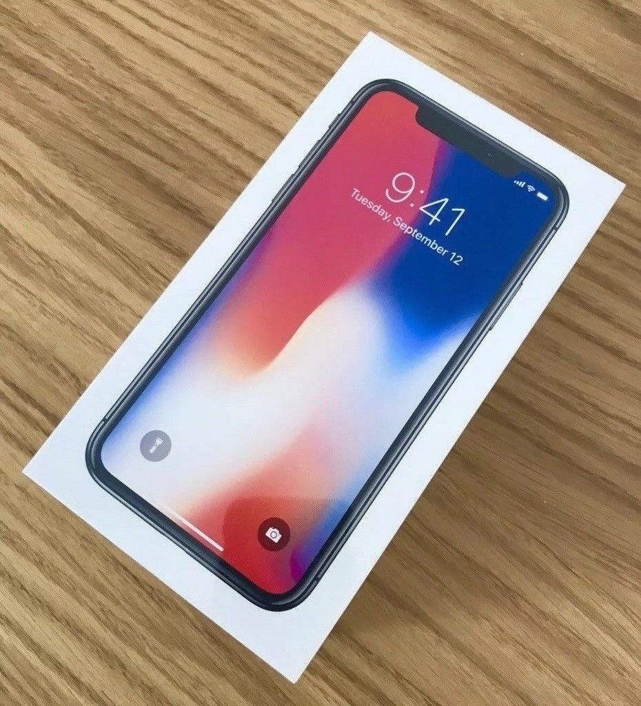 Brand New iPhone X Unlocked 256GB Space Grey