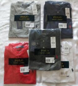 WHOLESALE RALPH POLO LACOSTE TOMMY HILFIGER T SHIRTS SMALL TO XXL WHOLESALE 5 COLORS