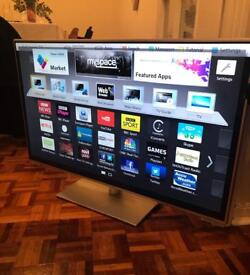 "Panasonic 42"" Smart 3D full HD Wifi youtube netflix Led tv freeview Hd freeSat"