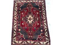 LARGE PERSIAN design CARPET RUG Made Woven Oriental Wool 205x150cm