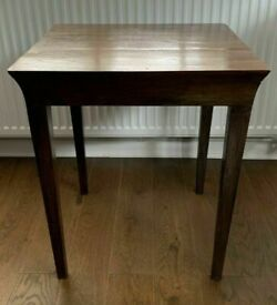 Rare Genuine LOMBOK Solid Indonesian Teak Hardwood Side Table / Coffee Table / Bedside Table