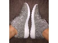 Glitterbomb Crushed Ice Just sparkle trainers