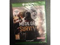 Sealed Metal Gear Survive Xbox one