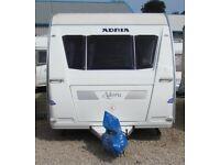 ADRIA ADORA 642 UP 2009 *CHANGEABLE BEDS* 4 BERTH CARAVAN