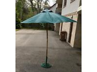 Garden Parasol and Stand