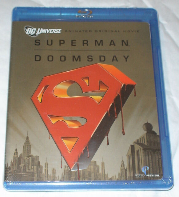 Superman - Doomsday - Blu-ray - BRAND NEW & SEALED