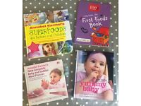 Weaning, baby and toddler cook books
