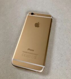 iPhone 6 16gb UNLOCKED Gold Excellent condition