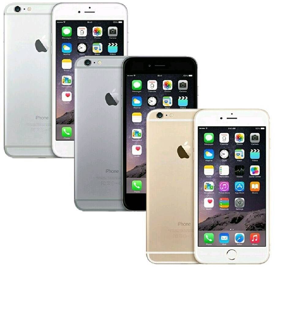 All Colours Available Apple IPhone 6 Plus 16gb Single Networks With Accessories