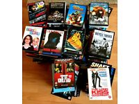 203 DVDs for sale - £20. perfect for car boot sale or Music Magpie