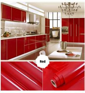 Upgrade Your Kitchen for a Low Budget!!!! Different Colors High quality  waterproof vinyl decorative film Free Shipping