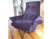 Original Parker Knoll chair, stylish and comfortable statement piece