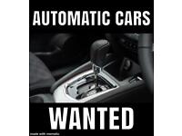 AUTOMATIC CARS WANTED - CASH 4 CARS