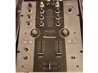 Pioneer DJM-250 + Decksaver [Tags: DJM 250 DJ Mixer Deck Saver Cover DJM250]