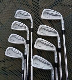 Ping i200 irons / 4 to U / KBS Tour stiff shafts