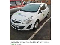 Vauxhall Corsa Ecoflex 1.3 diesel van