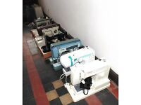 Job lot of 6 sewing machines.