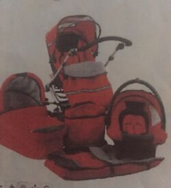 Prams & strollers - Hauck Infinity Travel System incl Carry Cot & Car Seat