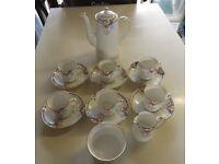15 piece china coffee set by Wellington
