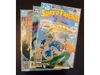 Grab bag of 3 collectible comic books. (D.C. Comics)