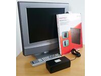 """Sony KDL15G2000 15"""" Inch Bravia LCD TV HD 3D DVB Built-in Freeview Table / Wall"""