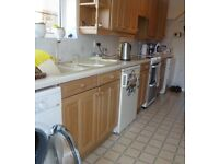 Kitchen Units, Worktops and Extractor Fan