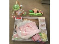 Fisher price job lot of baby toys