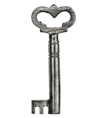 Vintage Key - FANCY BOW Iron Casket or Cabinet Key 2