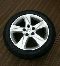 "17"" original honda alloys"