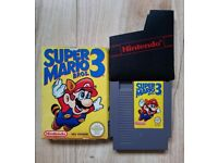 Super Mario Brothers 3 NES PAL Complete