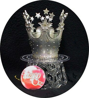 - Princess theme Fairytale Queen Wedding Cake Topper Glinda CROWN Wizard of OZ