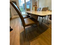 BoConcept Dining chairs x6.