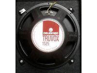 CELESTION TRUVOX 1525 SPEAKER CHASSIS. 8 OHMS @ 250WATT RMS.