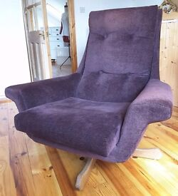 Vintage 1960's Parker Knoll arm chair