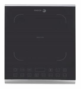 New Fagor America 670041900 Portable Induction Pro Cooktop, 1800W, Black