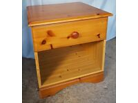 Bedside Table - One drawer