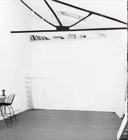 Studio and desk space to rent longterm