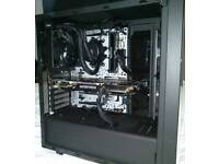 RYZEN 5 1600x l/cooled Gaming PC W GTX 970