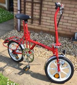 Diblasi quality folding bike