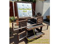 Guinea Pig/Dwarf Rabbit - Hutch/Cage/Run Custom made insulated and heated