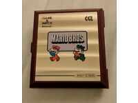 Nintendo Game And Watch Mario Bros Handheld Multi Screen 1983