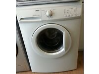Zanussi ZWHB6130P 7kg load capacity 1300 spin washing machine A+ energy rated
