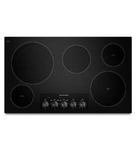 KitchenAid 36 Electric Cooktop with 5  Elements KECC664BBL (MP_169)
