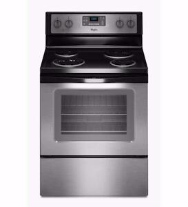 30'' Stainless steel Stove, WHIRLPOOL