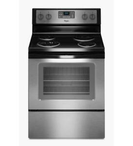 Coiled Electric Range Whirlpool YWFC310S0ES (BD-948)