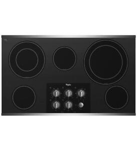 affordable gas and electric cooktops |Whirlpool G7CE3635XS electric-cooktops (BD-972)