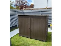 Shed - Bike Storage - Pent Large Outdoor Store – Dip Treated