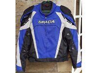 Waterproof Spada motorcycle jacket, size L