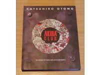 Akira Club Artwork book Otomo Katsuhiro Manga / Graphic Novel